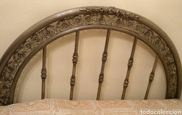 Antigüedades: Cama antigua de hierro - Foto 2 - 87097631