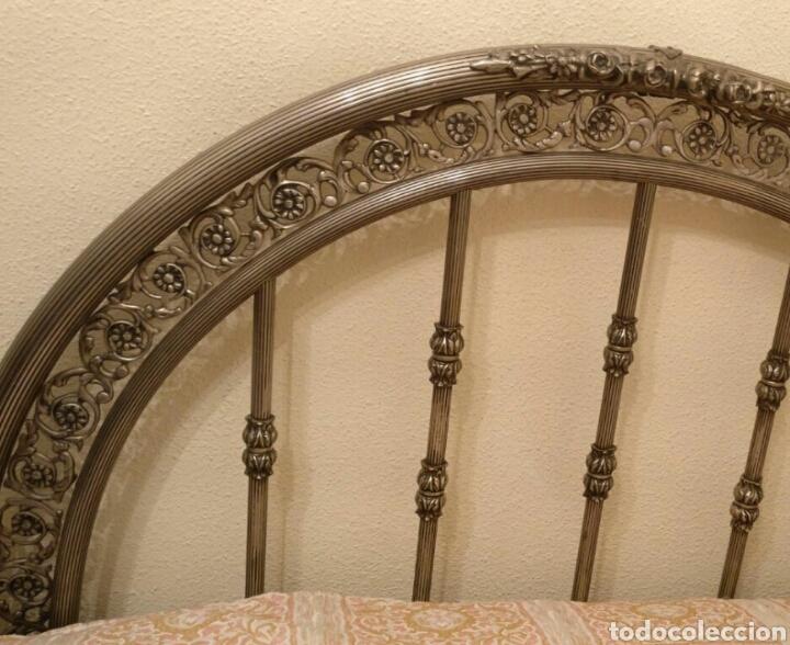 Antigüedades: Cama antigua de hierro - Foto 3 - 87097631