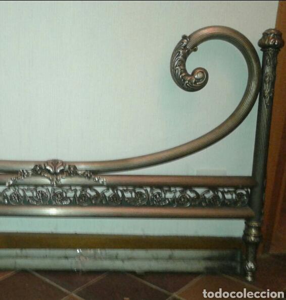 Antigüedades: Cama antigua de hierro - Foto 6 - 87097631