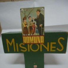 Antigüedades: HUCHA DOMUND PARA LAS MISIONES EN MADERA. AÑOS 40.. Lote 87106152