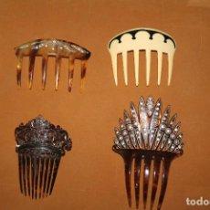 Antigüedades: LOTE PEINETAS ANTIGUAS. Lote 87144632