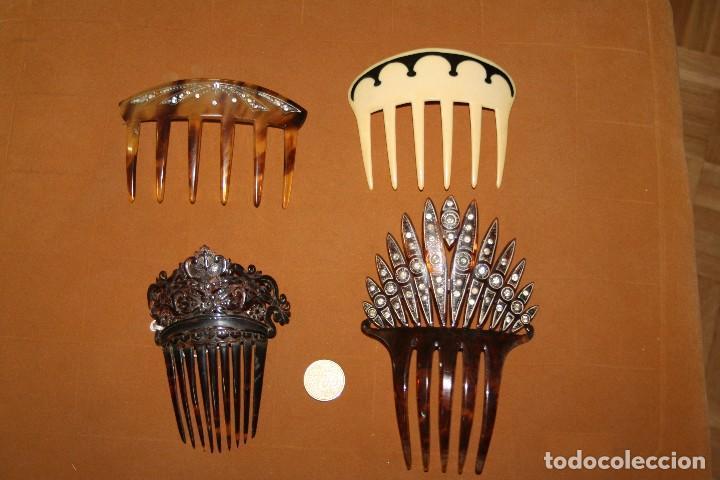 Antigüedades: LOTE PEINETAS ANTIGUAS - Foto 4 - 87144632