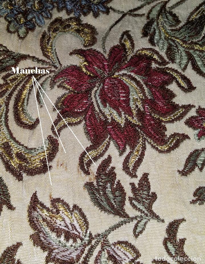 Antigüedades: Mantel / Tapete pasamanería - Foto 6 - 87164396