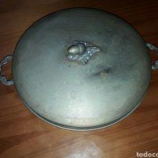 Antigüedades: ANTIGUA Y GRAN PIEZA DE ALPACA ANGULERA MUY RARA. Lote 87197902