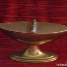 Antigüedades: ANTIGUA NAVETA EN METAL . Lote 87203232