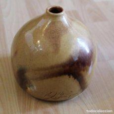 Antigüedades: JARRON NIDO DE ABEJA FIRMADO. Lote 87235404