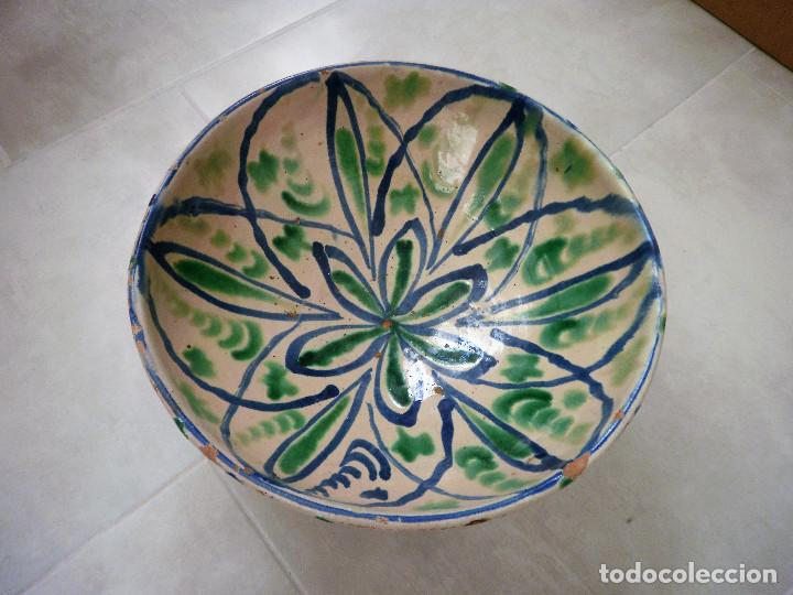 CUENCO DE CERÁMICA DE FAJALAUZA. (Antigüedades - Porcelanas y Cerámicas - Fajalauza)