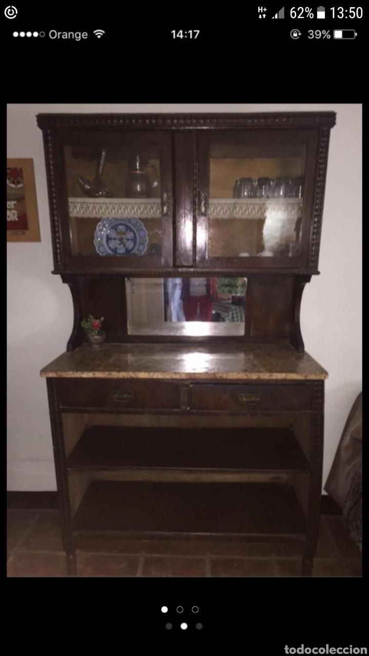 Mueble cocina antigua vendido en venta directa 87256959 for Cocina con muebles antiguos