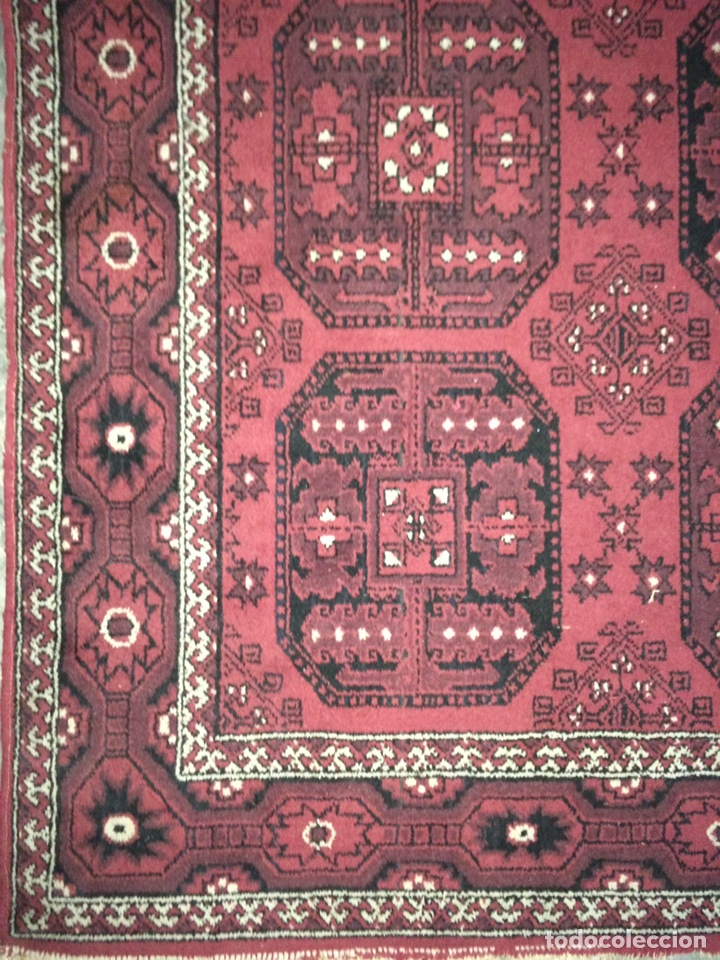 Antigüedades: Alfombra persa Shiraz de lana. 170x250 - Foto 3 - 87271956