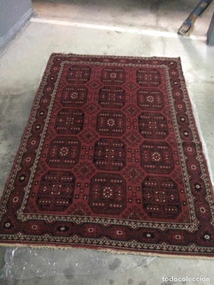 Antigüedades: Alfombra persa Shiraz de lana. 170x250 - Foto 4 - 87271956