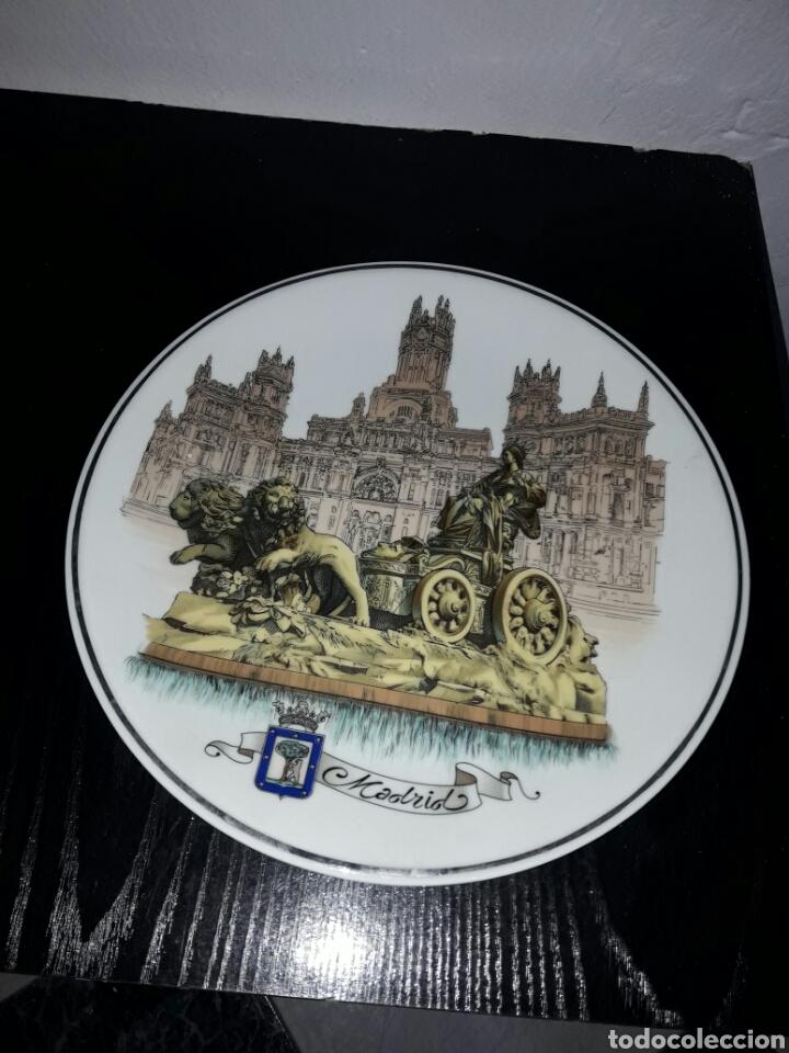 BONITO PLATO MADRID EDICION COLECIONISTAS (Antigüedades - Porcelanas y Cerámicas - Otras)