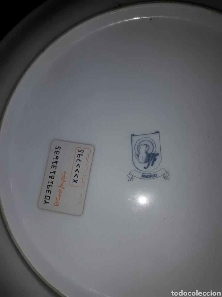 Antigüedades: bonito plato madrid edicion colecionistas - Foto 2 - 87281690
