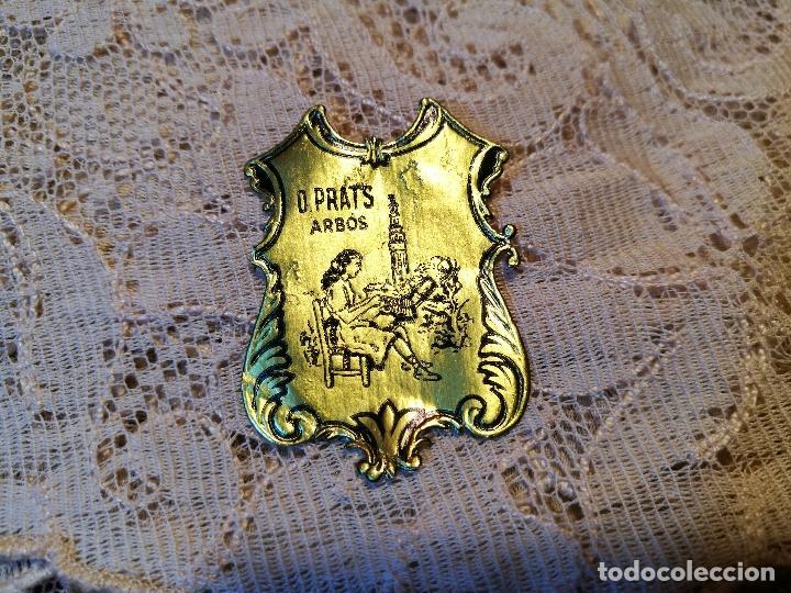 Antigüedades: TAPETE PAÑUELO ENCAJE BOLILLOS..damina prats --arbos-arboç PUNTAIRE --PUNTA COIXI BRUSELAS AGUJA - Foto 2 - 87308720