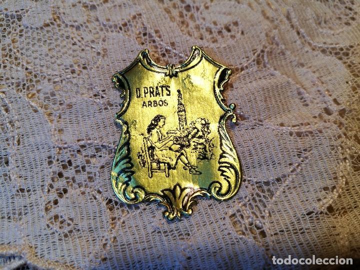 Antigüedades: TAPETE PAÑUELO ENCAJE BOLILLOS..damina prats --arbos-arboç PUNTAIRE --PUNTA COIXI BRUSELAS AGUJA - Foto 2 - 87310484