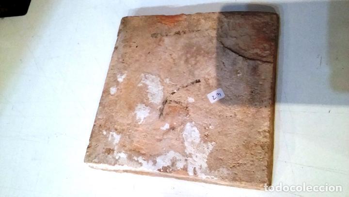 Antigüedades: ANTIGUO AZULEJO VALENCIANO DEL XVII-XVIII - Foto 3 - 85988364