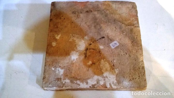 Antigüedades: ANTIGUO AZULEJO VALENCIANO DEL XVII-XVIII - Foto 4 - 85988364