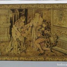 Antigüedades: TAPIZ S. XVIII-XIX. Lote 87357608