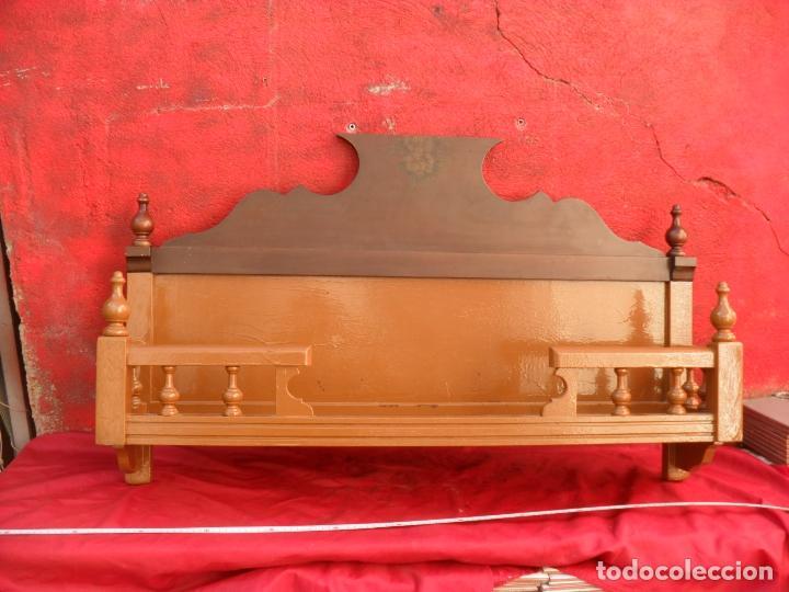 PRECIOSO JARRERO ANTIGUO,GRAN TAMAÑO,SIGLO XIX (Antigüedades - Muebles Antiguos - Repisas Antiguas)