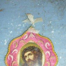 Antigüedades: ESCAPULARIO BORDADO. Lote 87384444