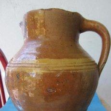 Antigüedades: JARRA PARA ACEITE O VINO DE CERAMICA , DESCONOZCO ZONA. Lote 87433256