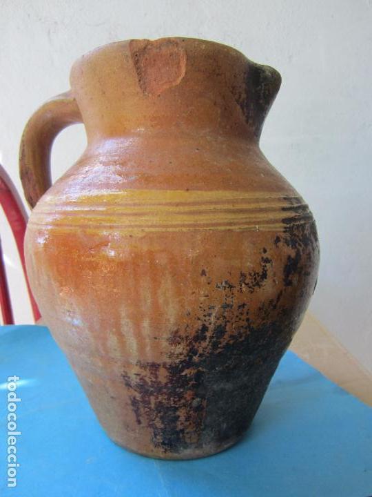 Antigüedades: jarra para aceite o vino de ceramica , desconozco zona - Foto 3 - 87433256