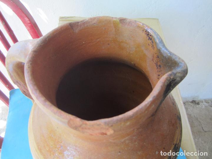 Antigüedades: jarra para aceite o vino de ceramica , desconozco zona - Foto 4 - 87433256
