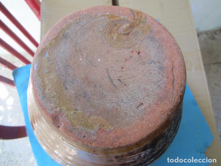 Antigüedades: jarra para aceite o vino de ceramica , desconozco zona - Foto 6 - 87433256