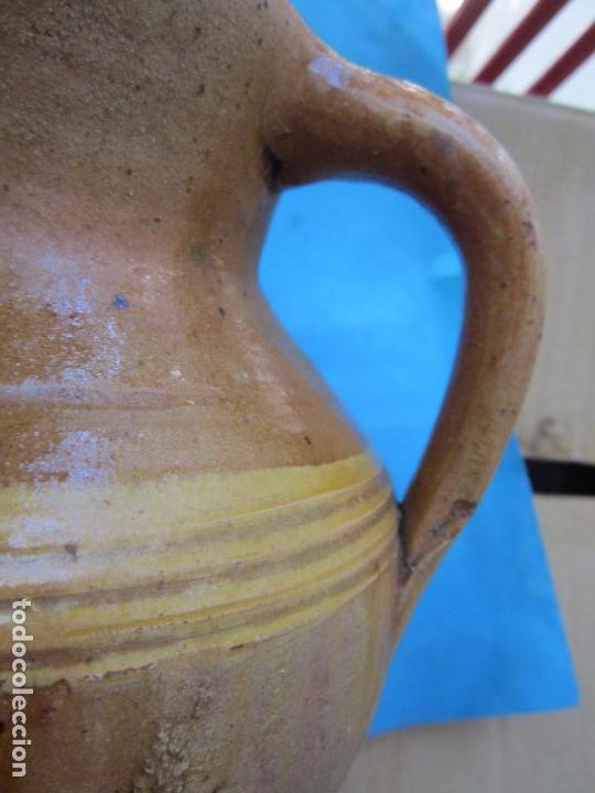 Antigüedades: jarra para aceite o vino de ceramica , desconozco zona - Foto 7 - 87433256