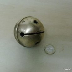 Antiquités: GRANDE CASCABEL EN BRONCE . Lote 87465060