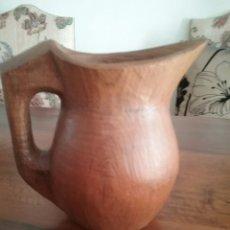 Antigüedades: JARRA DE MADERA. Lote 236525015