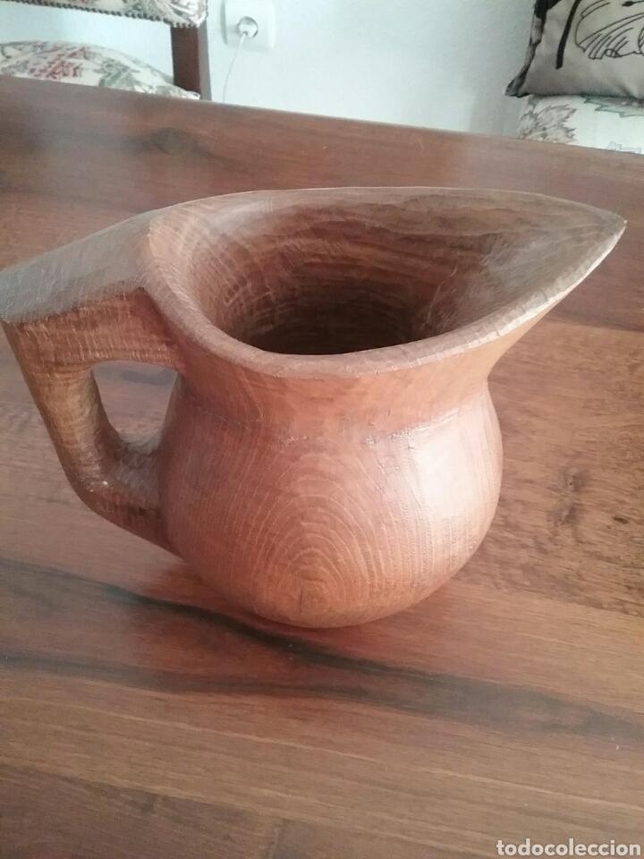Antigüedades: Jarra de madera - Foto 2 - 236525015