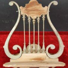 Antiguo atril esmerada decoracion calada lira m comprar en todocoleccion 45100511 - Atril decoracion ...