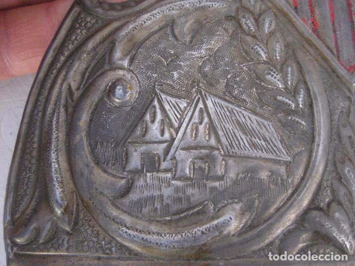 Antigüedades: MUY RARAS ! PEINETAS EN COLOR PLATA ANTIGUAS VALENCIA FALLERA BARRACAS MIGULETE AZAHAR - Foto 4 - 87509952