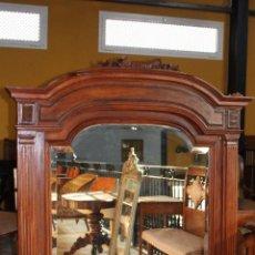 Antigüedades - Espejo de1900 aprox .gran dimensiones. Ref. 6040 - 87520304
