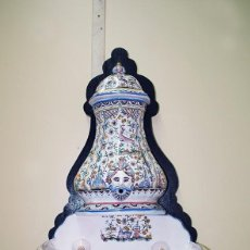 Antigüedades: AGUAMANIL ANTIGUO DE CERÁMICA DE CONÍMBRIGA (PORTUGAL). Lote 87532124