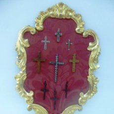 Antigüedades: PLAFON DE CRUCES. Lote 87533056