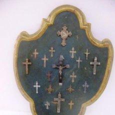 Antigüedades: PLAFON DE CRUCES. Lote 87533248