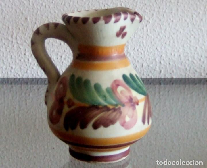 JARRITA DE CERÁMICA DE TALAVERA. REF. 639 (Antigüedades - Porcelanas y Cerámicas - Talavera)