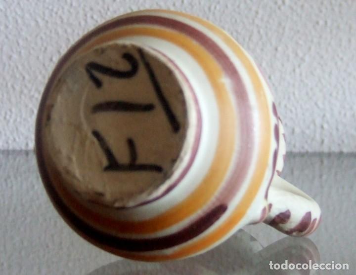 Antigüedades: Jarrita de cerámica de Talavera. Ref. 639 - Foto 6 - 87534544