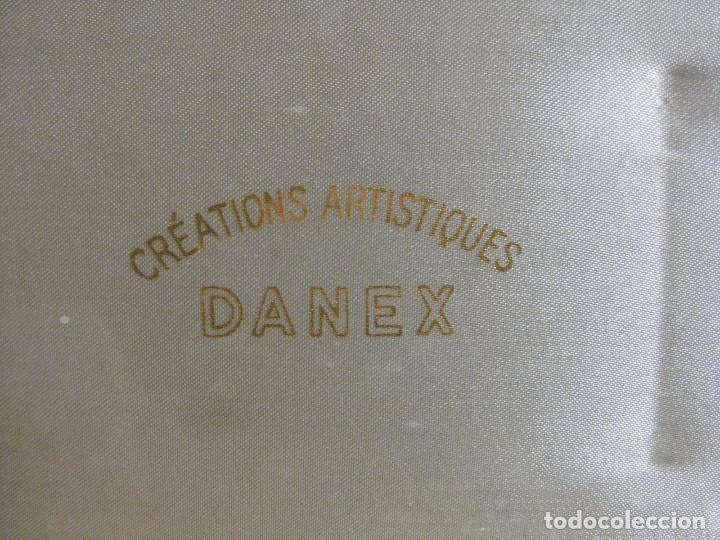 Antigüedades: PRECIOSO JUEGO DE POLVERA Y PORTA LAPIZ DE LABIOS DANEX CREATIONS ARTISTIQUES - Foto 3 - 167918405