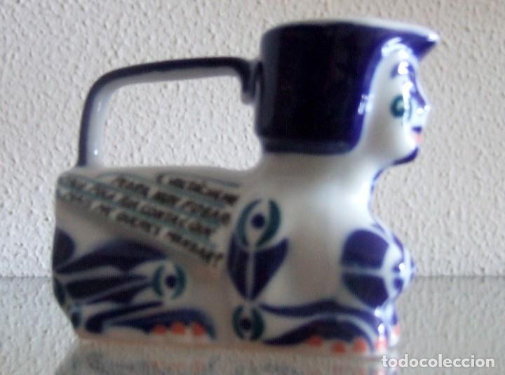 ESFINGE EN PORCELANA DE SARGADELOS. REF. 646 (Antigüedades - Porcelanas y Cerámicas - Sargadelos)