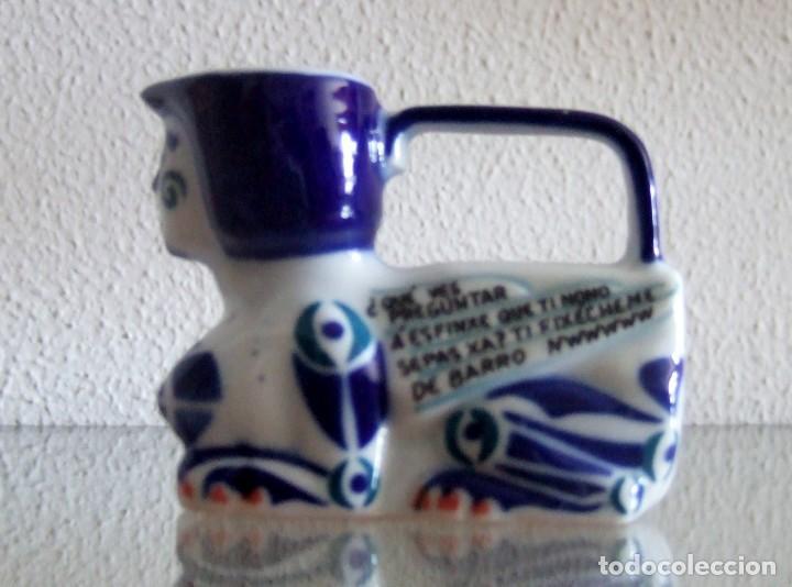 Antigüedades: Esfinge en porcelana de Sargadelos. Ref. 646 - Foto 8 - 130354379