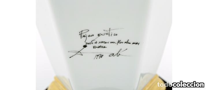 Antigüedades: Jarrón Salvador Dalí, Pájaro Exótico - Foto 3 - 87542344