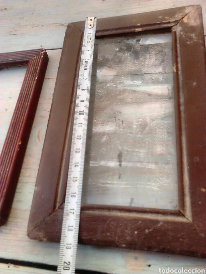 Antigüedades: Lote 3,antiguos marcos de fotos,ideal restauradores, ver fotos - Foto 2 - 87571996