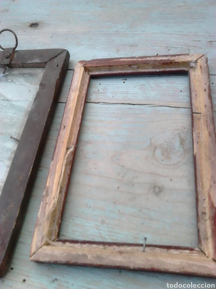 Antigüedades: Lote 3,antiguos marcos de fotos,ideal restauradores, ver fotos - Foto 5 - 87571996