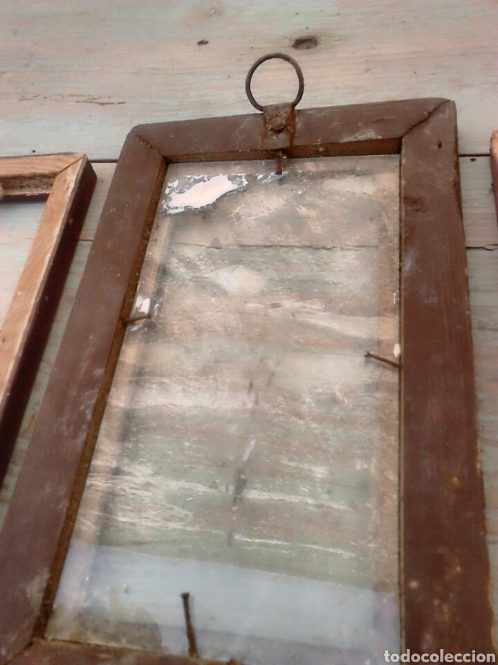 Antigüedades: Lote 3,antiguos marcos de fotos,ideal restauradores, ver fotos - Foto 6 - 87571996