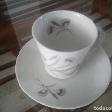 Antigüedades: ANTIGUO JUEGO DE CAFE SANTA CLARA. 10 SERVICIOS.. Lote 87573676