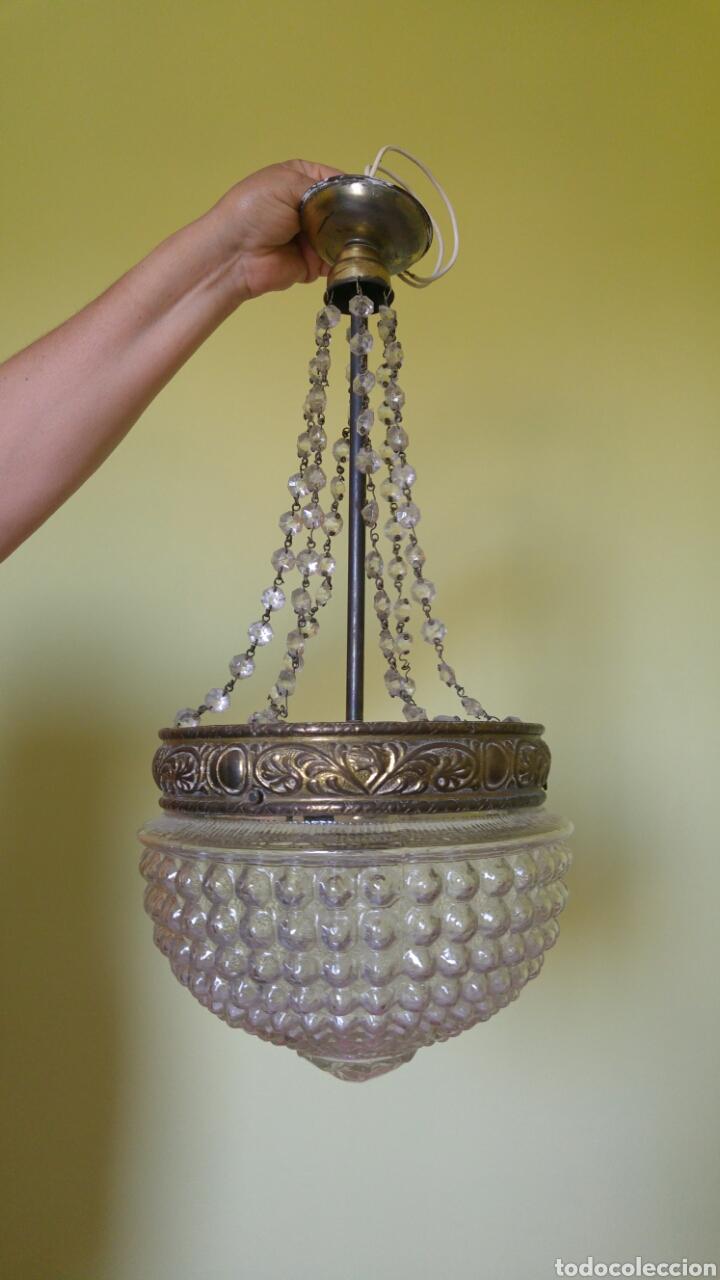 LÁMPARA TECHO (Antigüedades - Iluminación - Lámparas Antiguas)