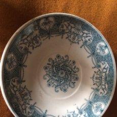 Antigüedades: PLATO LA CARTUJA DE SEVILLA. Lote 87588398