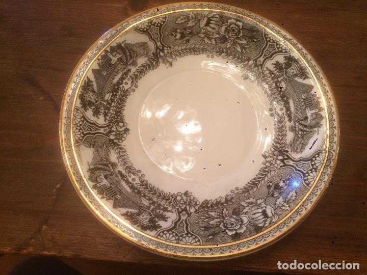 Antigüedades: Antigua taza de ceramica marca San Claudio de los años 30-40 con bonito dibujo - Foto 8 - 87640328